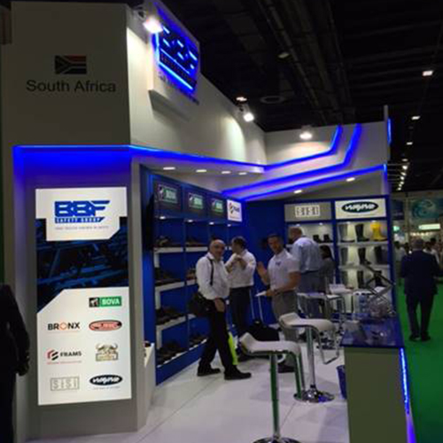 BBF Safety Group stand