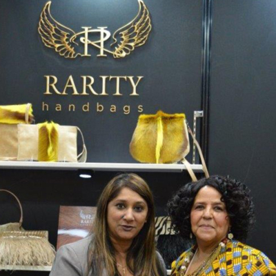 DTI representative attending with Nerisha Jairaj