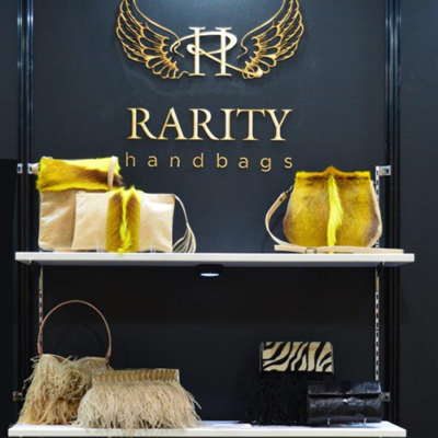 Rarity Handbags stand