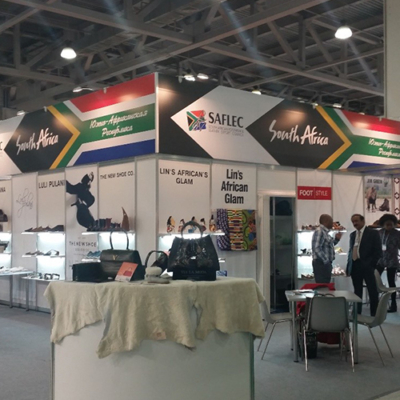 SA Pavilion at MosShoes March 2017