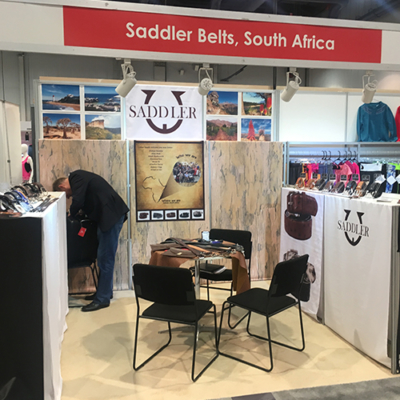 Saddler Belts Stand