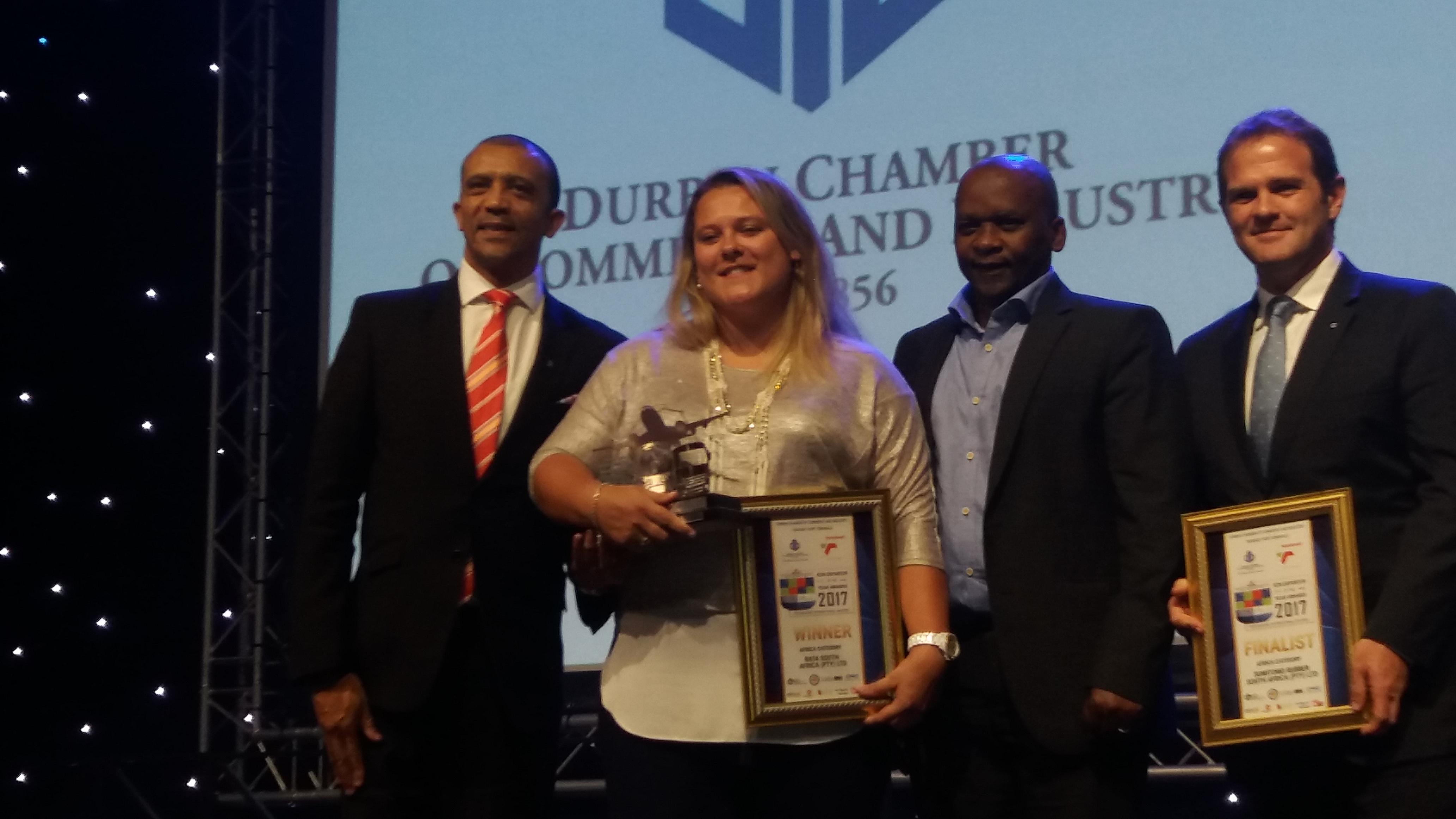 Tess Simpson – Bata – Export-awards